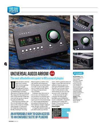 Total Guitar Universal Audio Arrow