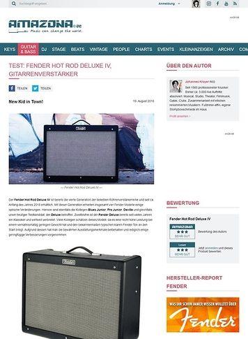 Amazona.de Fender Hot Rod Deluxe IV