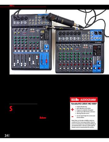 Professional Audio Yamaha MG12XUK, MG10XUF