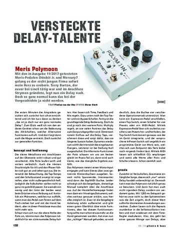 Gitarre & Bass Meris Polymoon