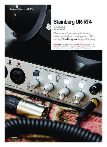 Future Music Steinberg UR-RT4