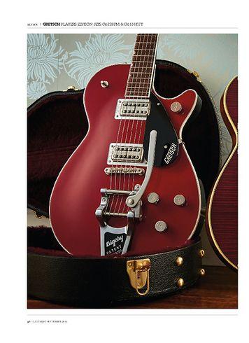 Guitarist Gretsch G6228FM Players Edition Jet BT