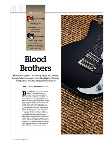 Guitarist Danelectro '66T