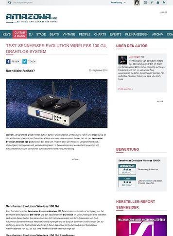 Amazona.de Sennheiser Evolution Wireless 100 G4