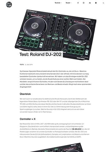 DJLAB Roland DJ-202