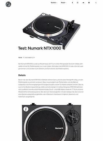 DJLAB Numark NTX1000
