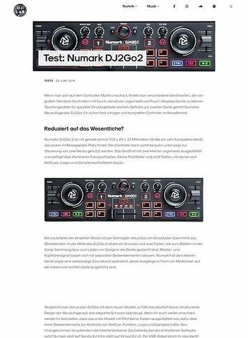 DJLAB Numark DJ2Go2