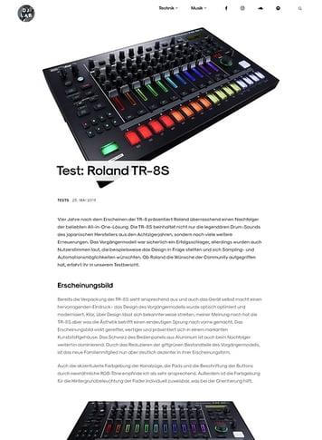 DJLAB Roland TR-8S