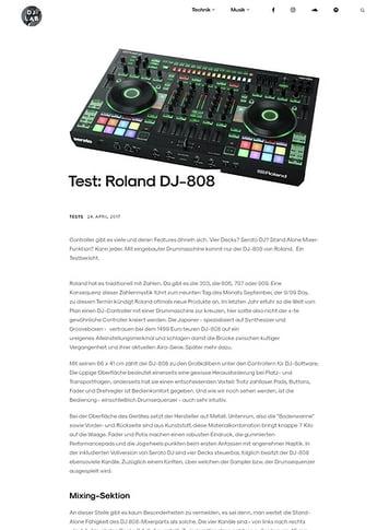 DJLAB Roland DJ-808