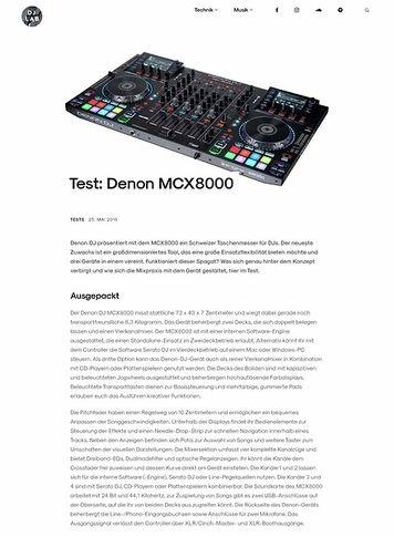 DJLAB Denon MCX8000