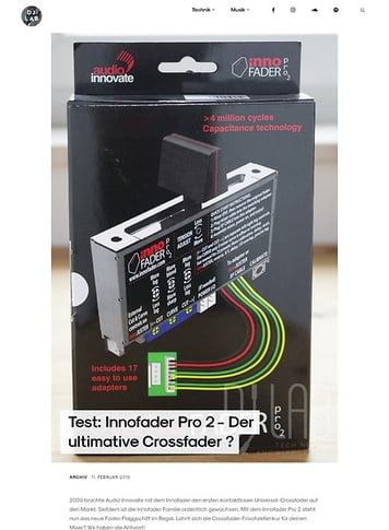 DJLAB Innofader Pro 2