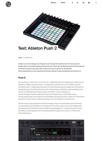 DJLAB Ableton Push 2