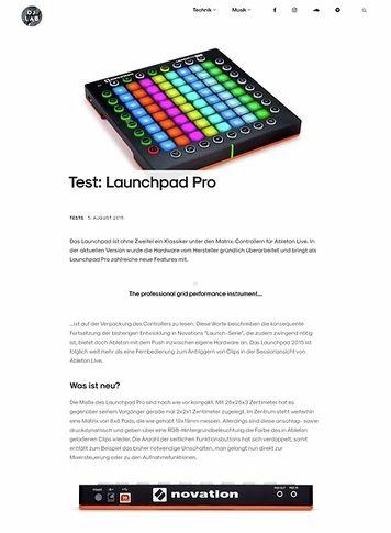 DJLAB Launchpad Pro