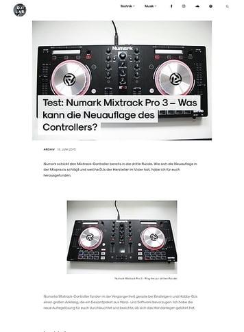DJLAB Numark Mixtrack Pro 3