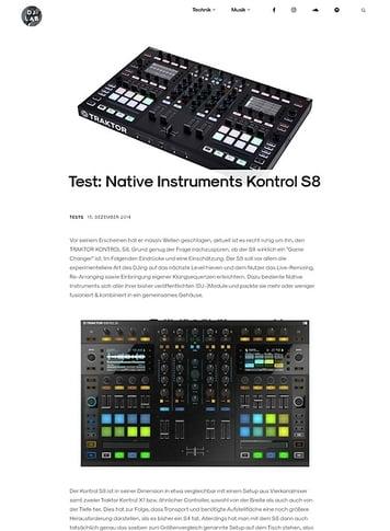 DJLAB Native Instruments Kontrol S8