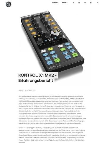 DJLAB KONTROL X1 MK2