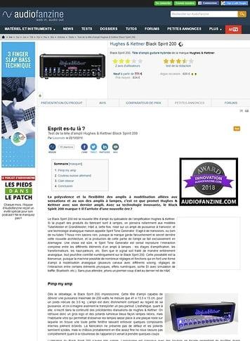Audiofanzine.com Hughes & Kettner Black Spirit 200