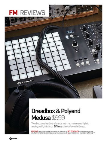 Future Music Dreadbox Polyend Medusa