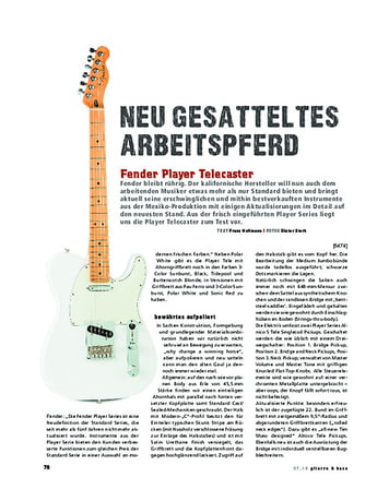 Gitarre & Bass Fender Player Telecaster