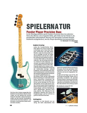 Gitarre & Bass Fender Player Precision Bass,