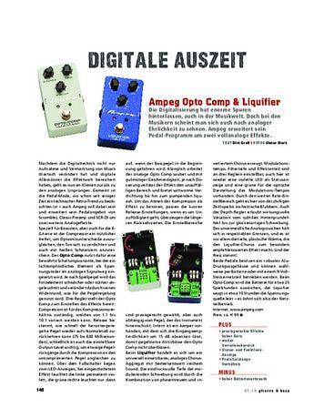 Gitarre & Bass Ampeg Opto Comp & Liquifier