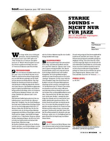 Sticks Meinl Byzance Jazz 15 Thin Hi-Hat