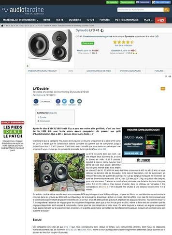 Audiofanzine.com Dynaudio LYD 48