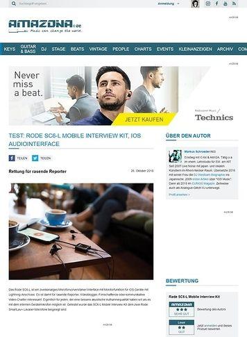 Amazona.de Rode SC6-L Mobile Interview Kit
