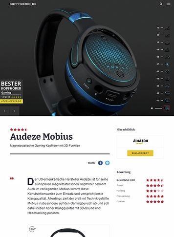 Kopfhoerer.de Audeze Mobius Blue