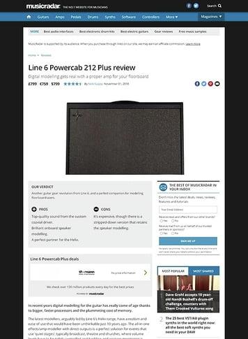 MusicRadar.com Line 6 Powercab Plus
