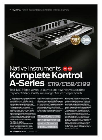 Computer Music Native Instruments Komplete Kontrol A-Series