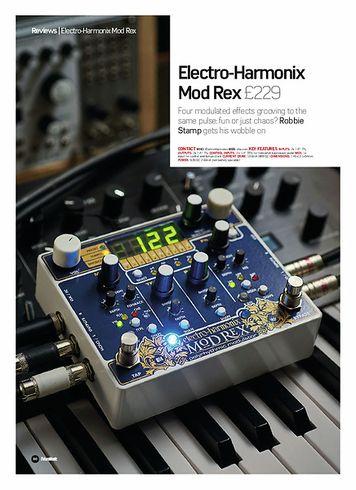 Future Music Electro-Harmonix Mod Rex