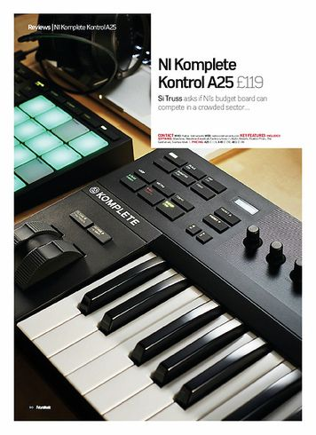 Future Music NI Komplete Kontrol A25