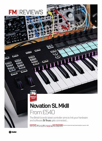 Future Music Novation SL MkIII