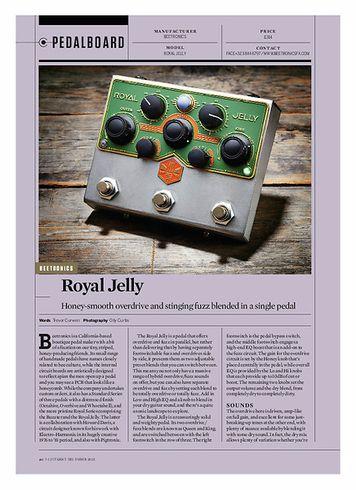Guitarist Beetronics Royal Jelly