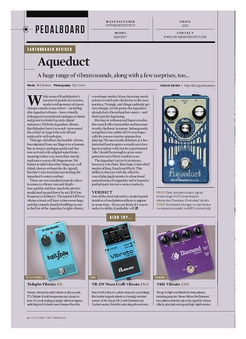 Guitarist Earthquaker Devices Aqueduct