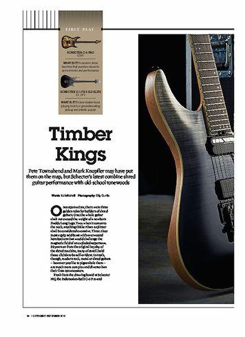 Guitarist Schecter C-1 FR S SLS Elite