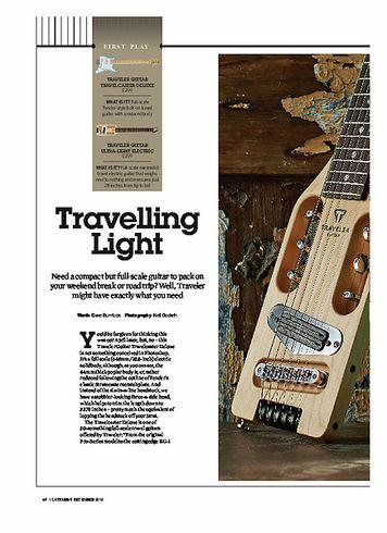 Guitarist Traveler Guitar Travelcaster Deluxe