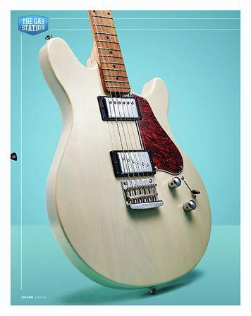 Total Guitar Sterling By Music Man Valentine JV60
