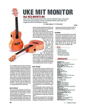 Gitarre & Bass Kai KCI-90/KTI-90