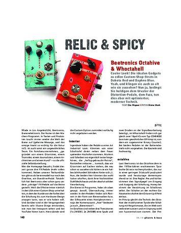 Gitarre & Bass Beetronics Octahive & Whoctahell