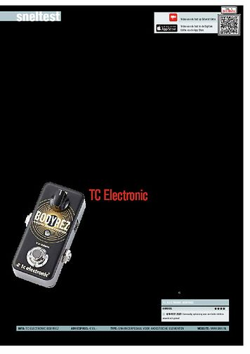 gitarist.nl TC Electronic BodyRez