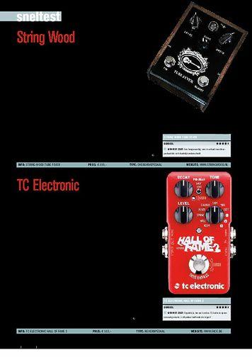 gitarist.nl TC Electronic Hall Of Fame 2