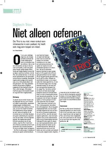 gitarist.nl Digitech Trio+