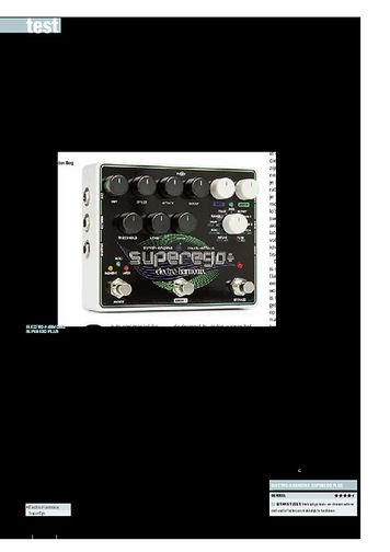 gitarist.nl Electro-Harmonix SuperEgo Plus