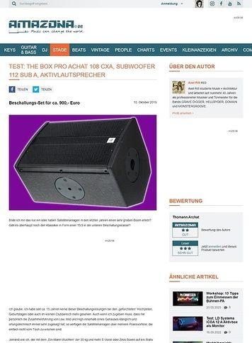 Amazona.de The Box Pro Achat Entertainment Active Set