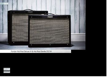 gitarist.nl Fender Hot Rod Deluxe IV & Hot Rod Deville 212 IV