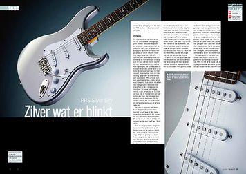 gitarist.nl PRS Silver Sky