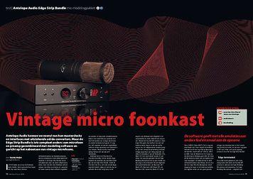 interface.nl Antelope Audio Edge Strip Bundle mic-modelingpakket