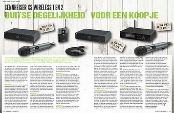 musicmaker.nl Sennheiser XS Wireless 1 en 2